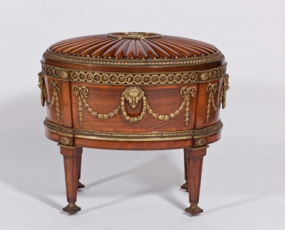 Chippendale wine cooler at Harewood House near Harrogate