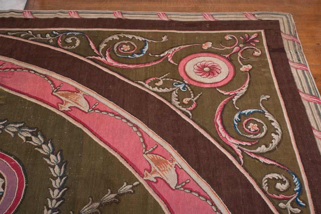 Harewood House near Leeds has several Robert Adam carpets designed for the House
