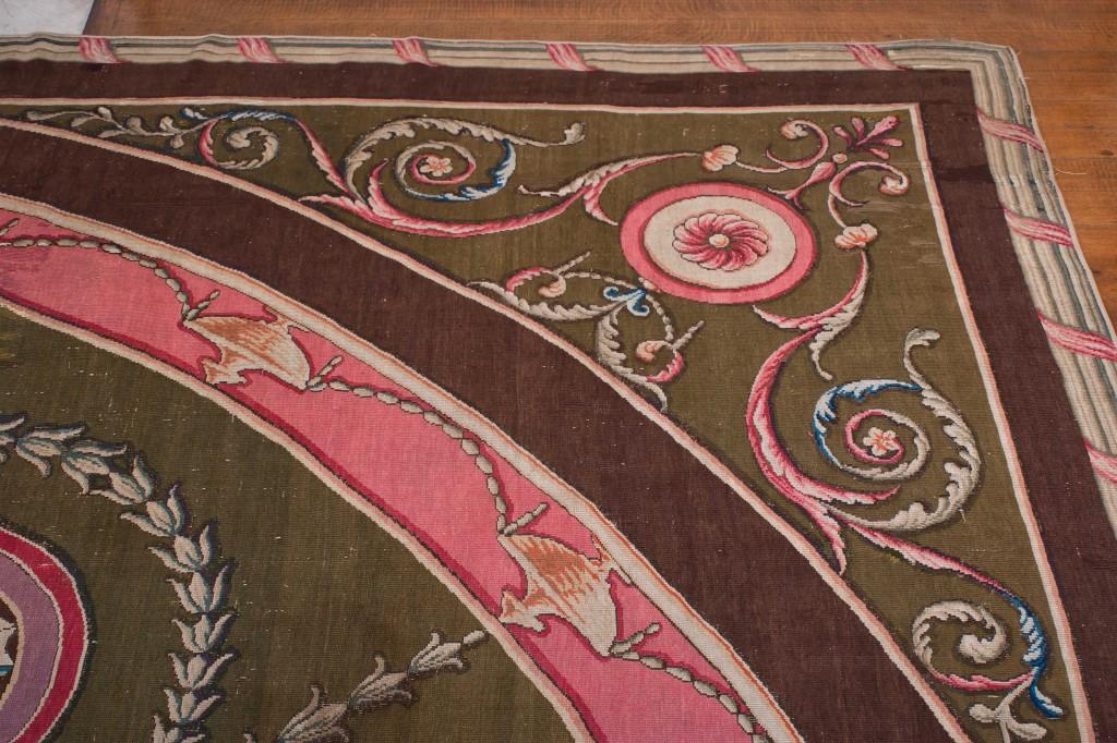 Harewood House near Leeds has several Robert Adam carpets designed for the House