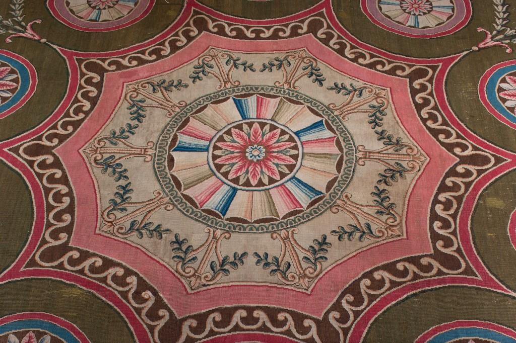 See original Robert Adam designs at Harewood House in Yorkshire