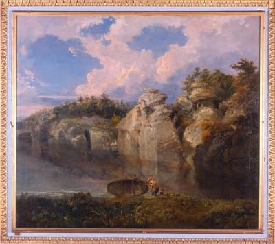 Turner painted at Harewood House near Leeds