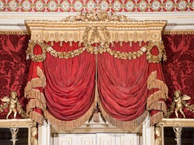 Harewood House in Yorkshire has rare collections of Chippendale