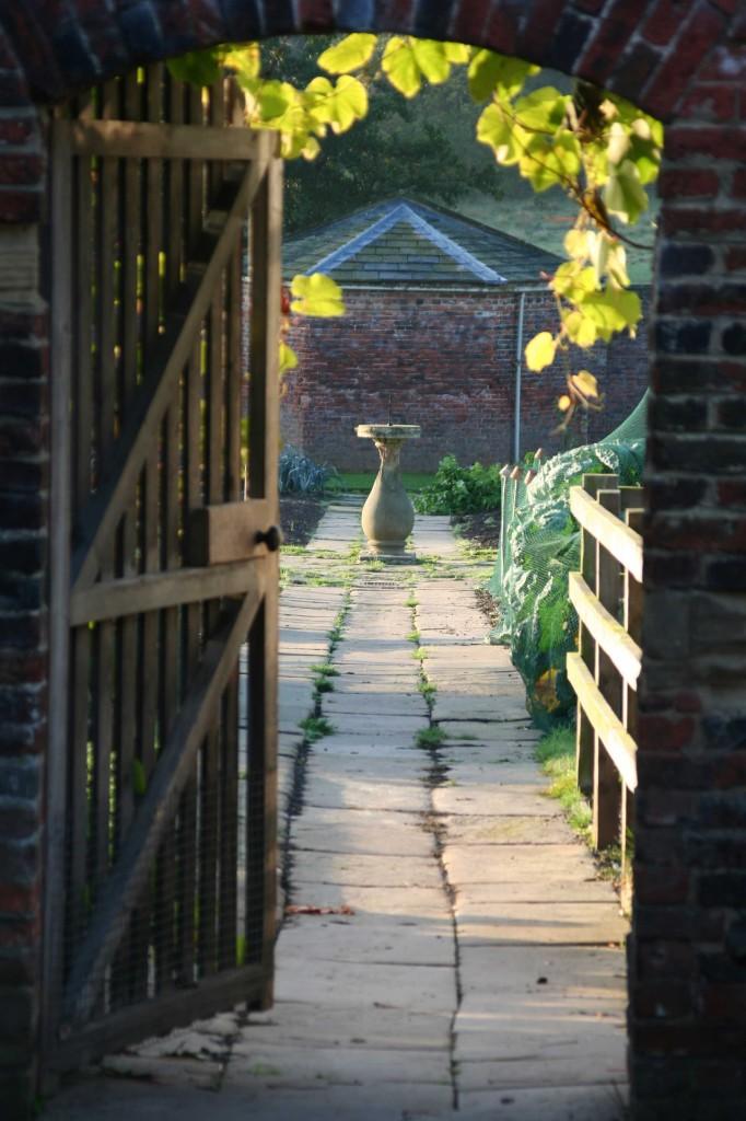Walled Garden doorway at Harewood