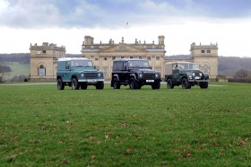 Harewood House near Harrogate is the home of the Classic Car Show