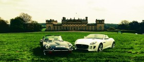 Yorkshire Post Classic Car Show at Harewood