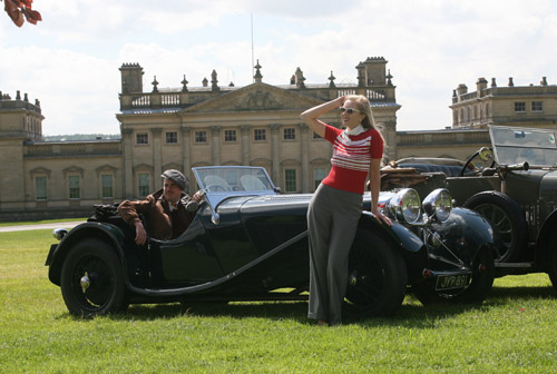 Classic Car Show at Harewood