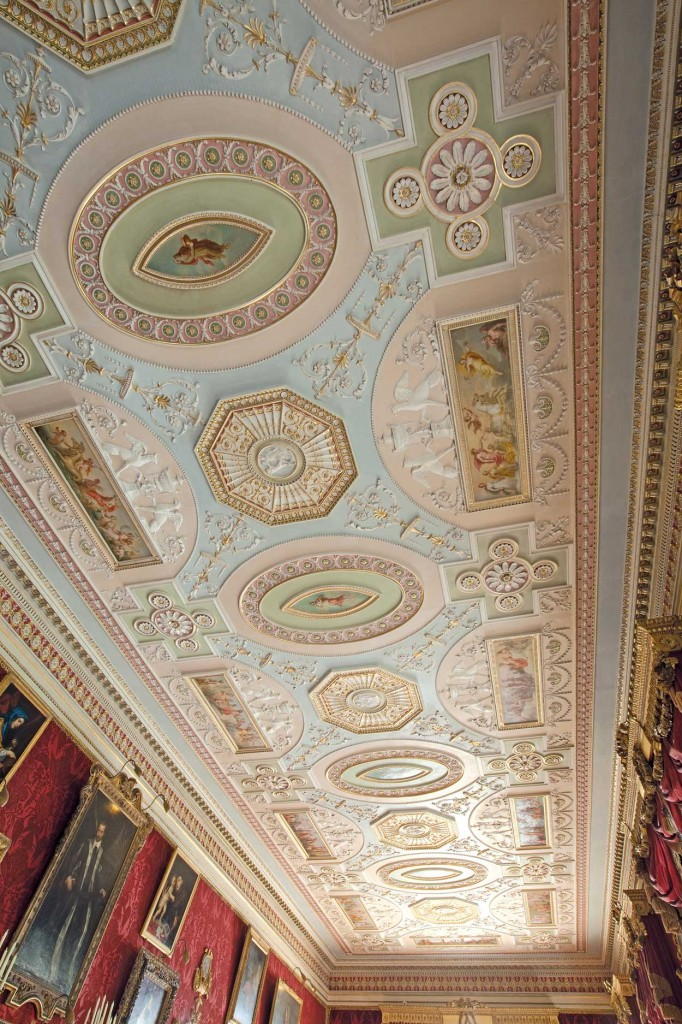 Gallery Ceiling Harewood House
