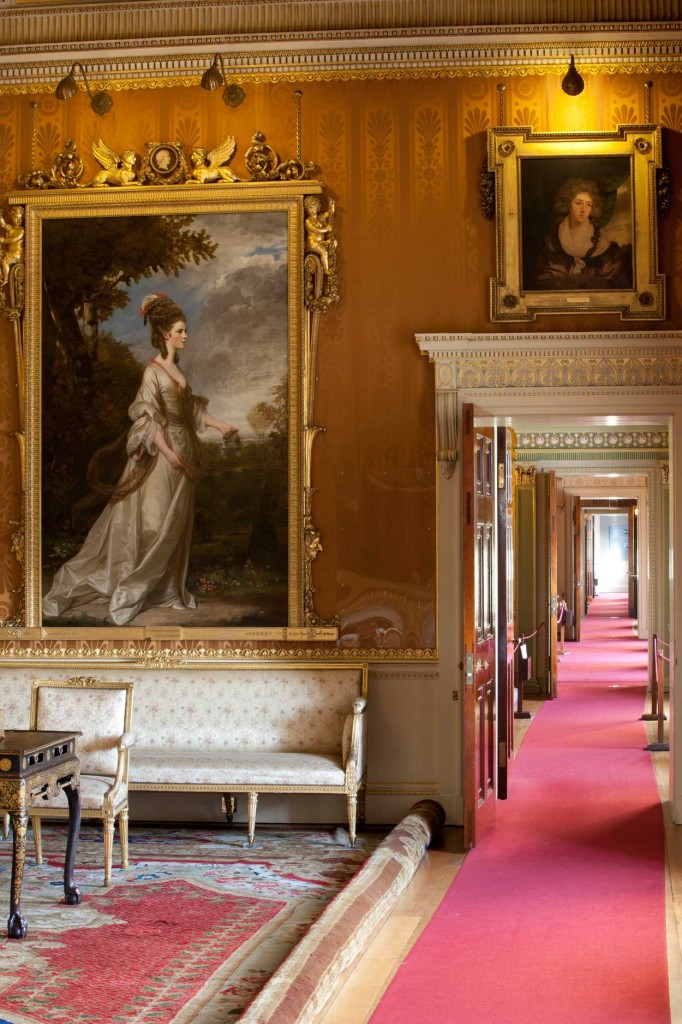 Joshua Reynolds portraits at Harewood House in Yorkshire