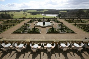 The landscape at Harewood was sculpted by Capability Brown