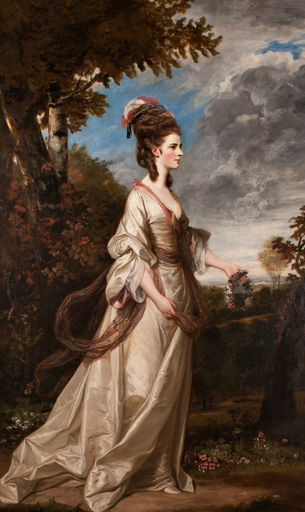 Lady Harrington was at Harewood House in Yorkshire