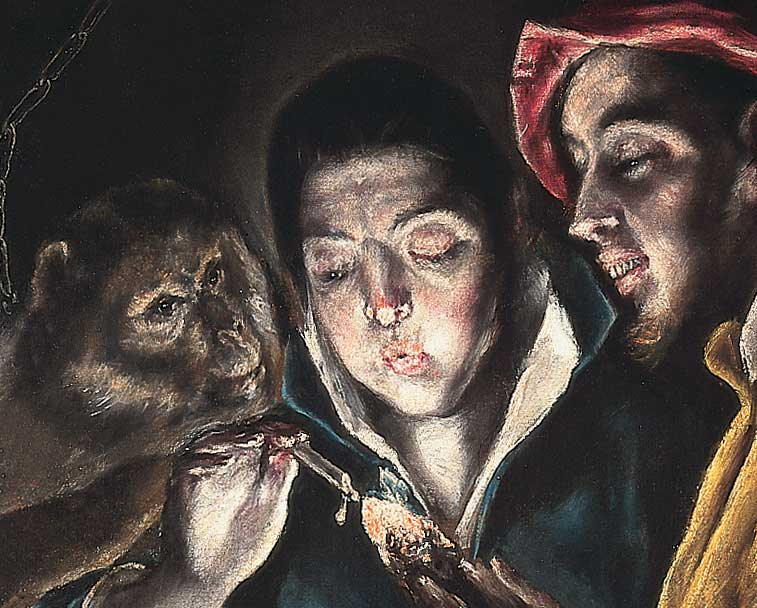 El Greco art in the collection at Harewood House in Leeds