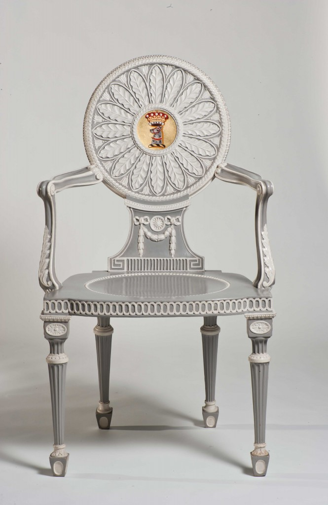 Harewood House has Chippendales chairs designed for the original owners