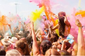 Colour and music all in one place