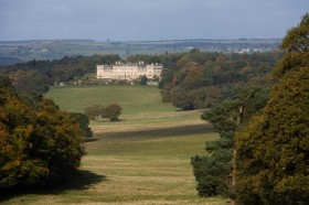 Harewood House in Yorkshire has capability brown landscape