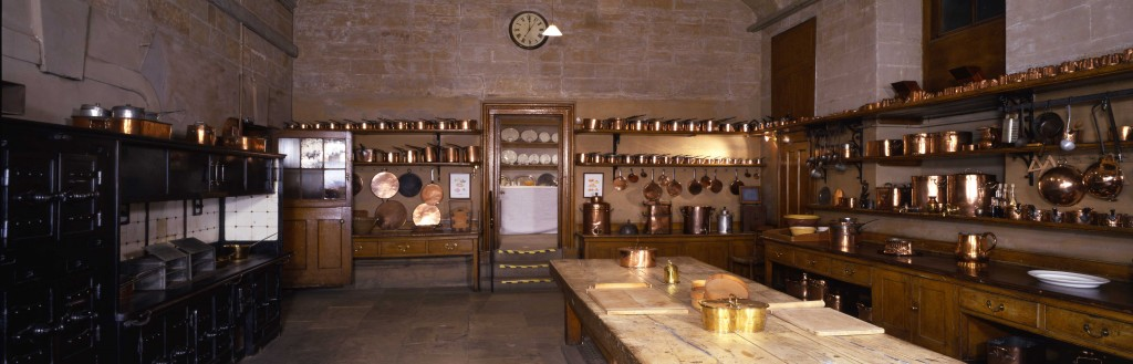 Harewood House has an old kitchen you can visit which was designed by John Carr