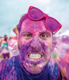 Join the colour explosion at Harewood