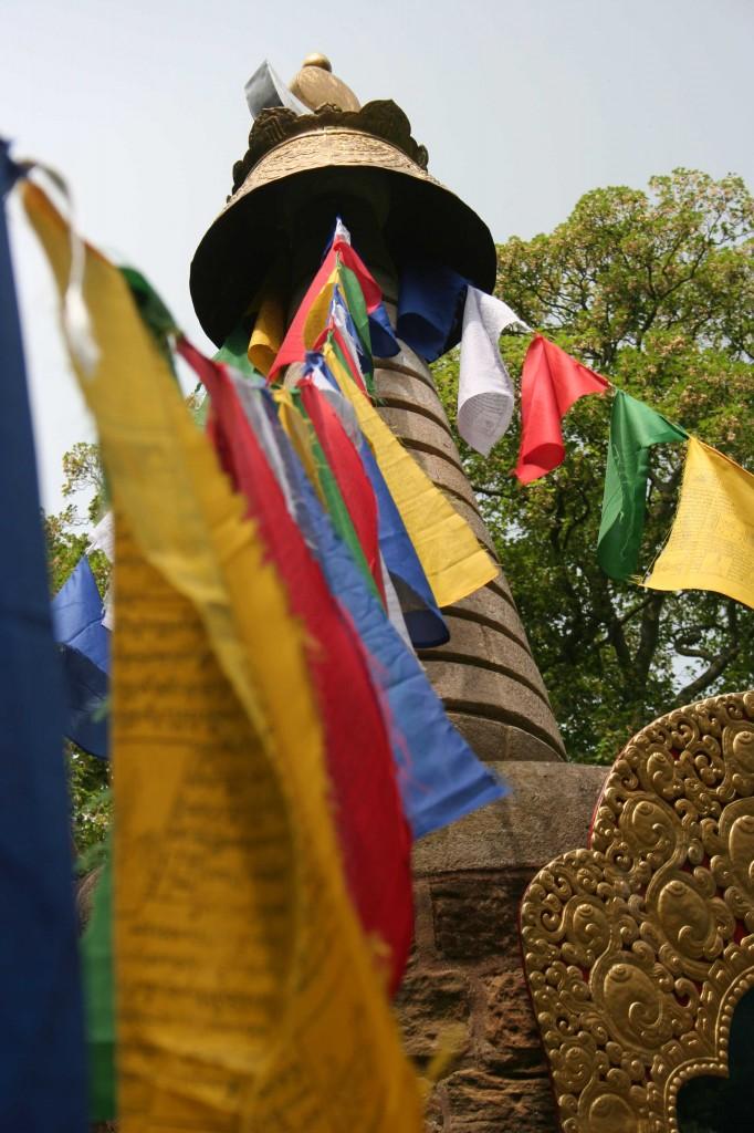 Buddhist Stupa at Harewood
