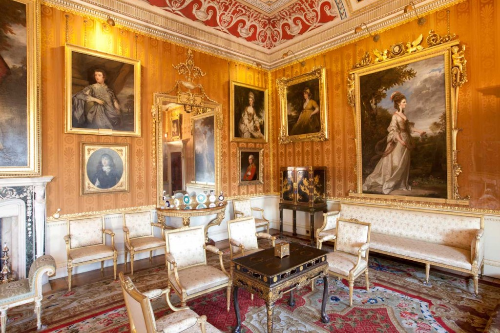 Harewood House in Yorkshire is a country house open to the public