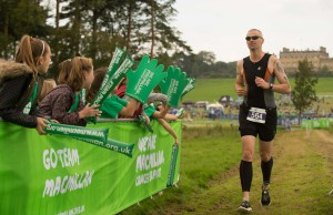 Runners at Harewood House in Yorkshire