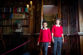 School trips to Harewood House