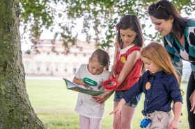 Free children's nature activities at Harewood in Yorkshire