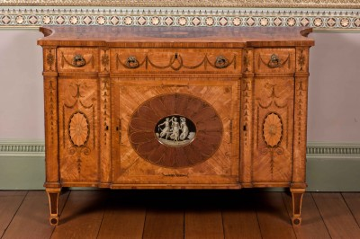 Chippendale Dressing Commode at Harewood
