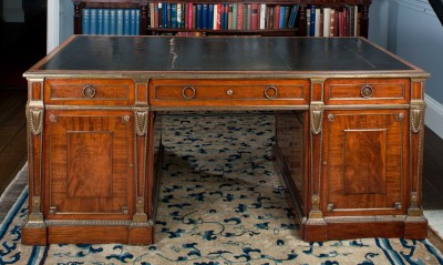 Visit Harewood House to see Chippendale desks