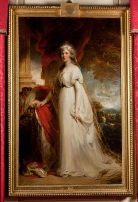 Harewood House family portraits are on display near Leeds