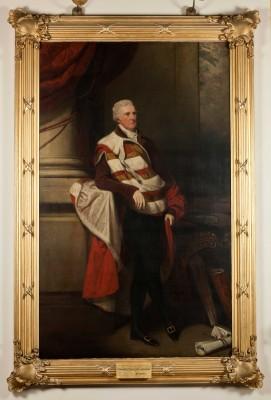 Harewood House in Yorkshire has John Hoppner paintings