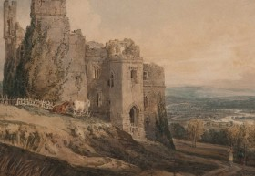 Harewood Castle painted by Turner