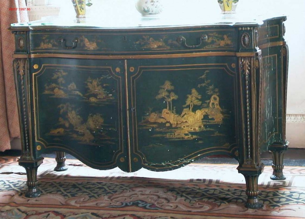 Harewood House has rare chippendale furniture on display