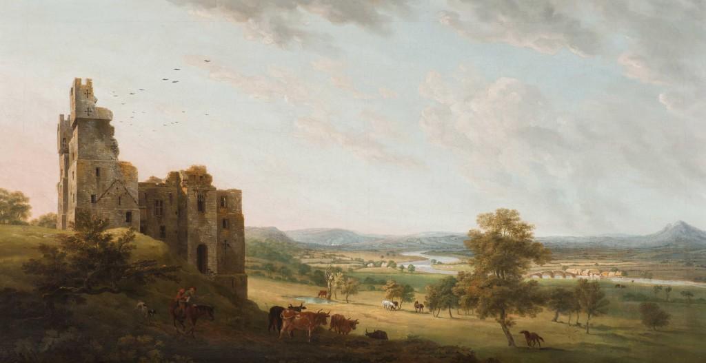 Harewood Castle near Leeds