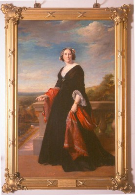 Harewood house in Yorkshire has portraits