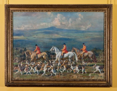 Munnings paintings at Harewood House in Yorkshire
