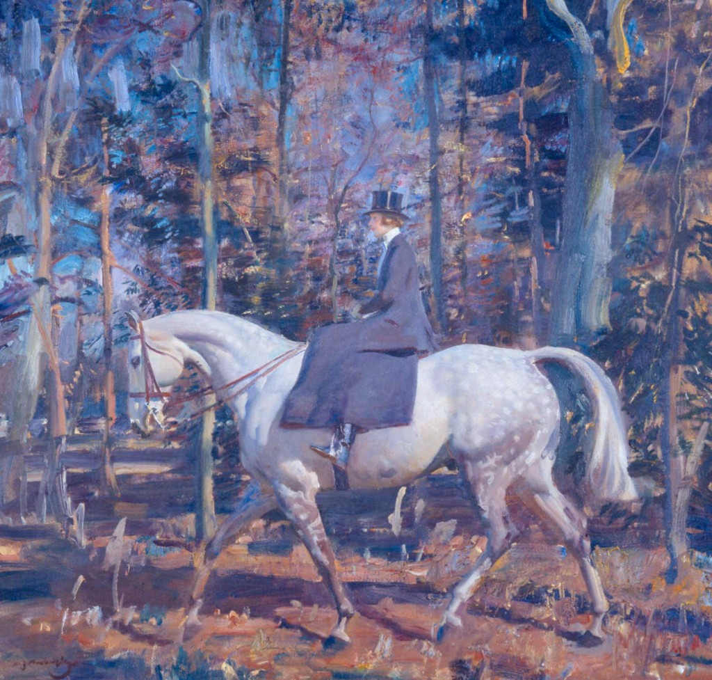 See Munnings paintings at Harewood House in Yorkshire