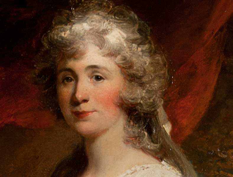 See oil portraits at Harewood House in Yorkshire