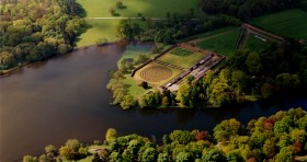 Harewood House near Harrogate has land art