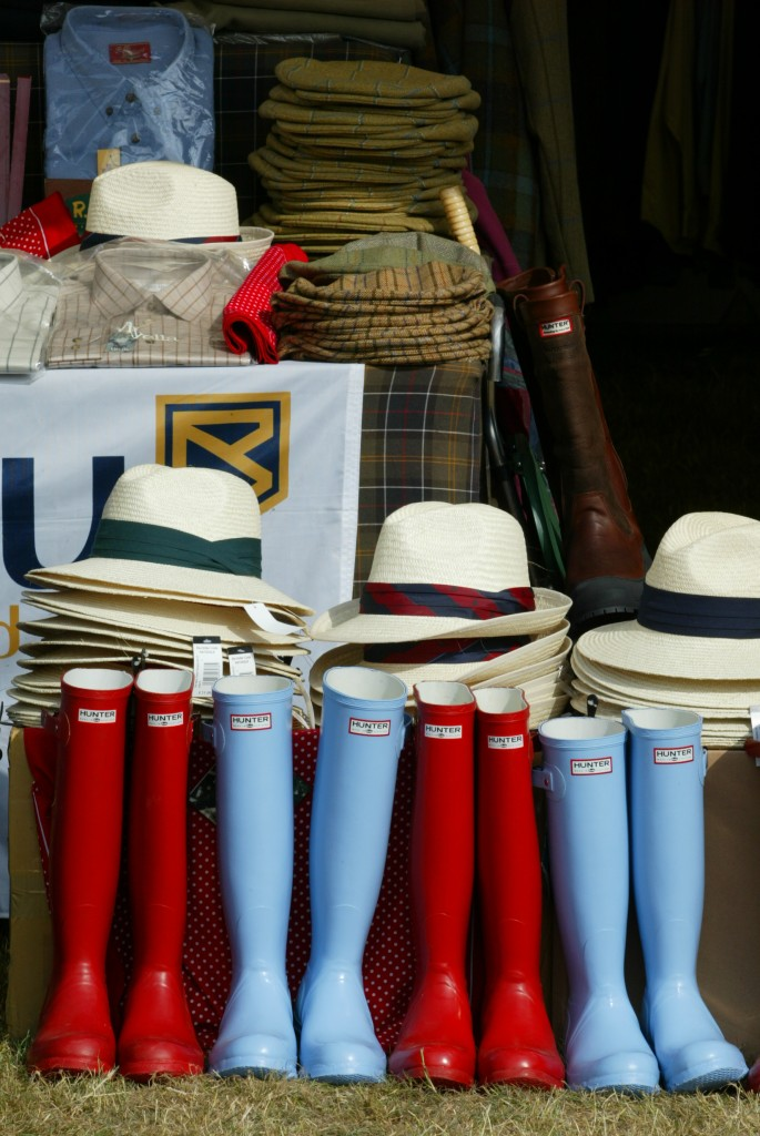 Explore the shops at the Game Fair at Harewood House in Yorkshire