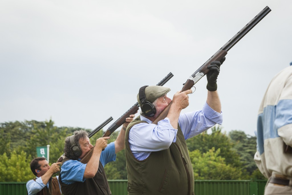 See shooting at the CLA Game Fair in Yorkshire
