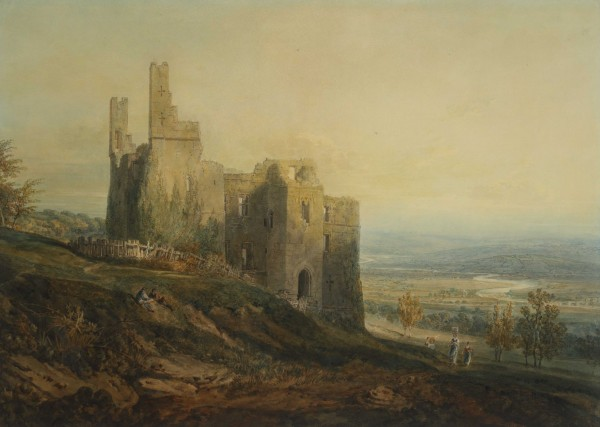 Harewood Castle by JMW Turner