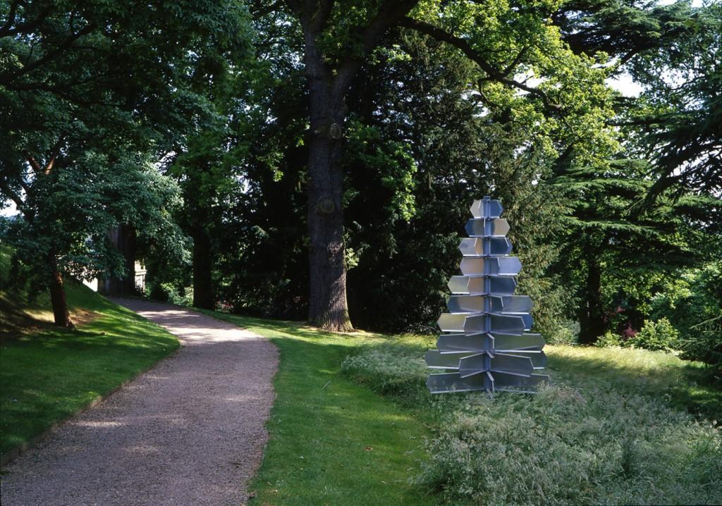 Land art at Harewood House in Yorkshrie