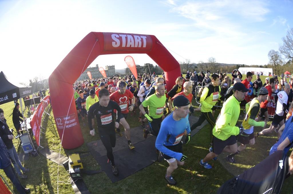 Half Marathon at Harewood In Yorkshire