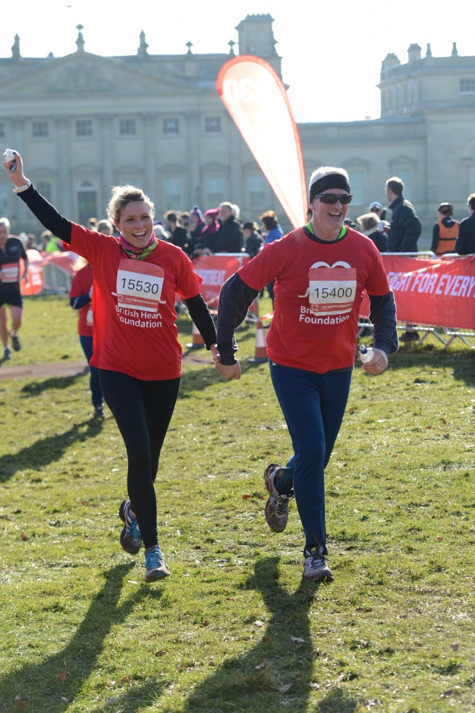 Races at Harewood House with British Heart Foundation