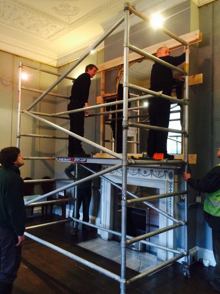 Moving Mirrors at Harewood