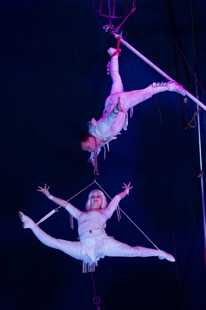 Moscow State Circus at Harewood House, Leeds