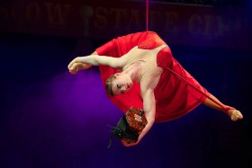 Moscow State Circus at Harewood in Yorkshire