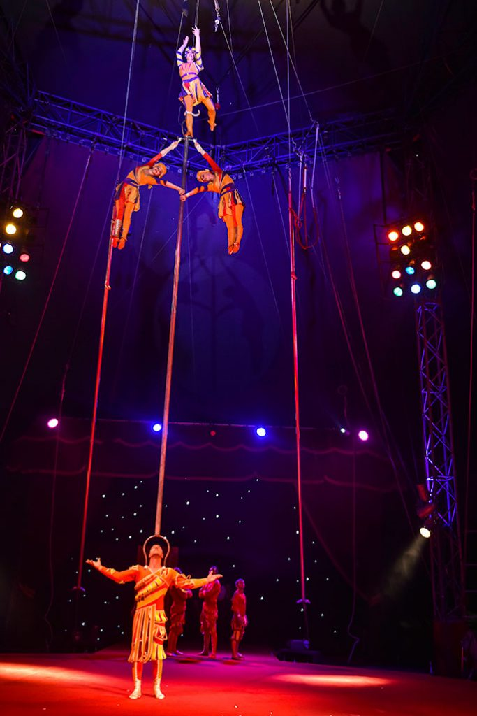 The Great Russian Circus comes to Harewood, Leeds