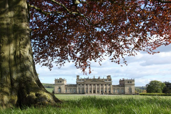 Capability Brown designed gardens at Harewood House