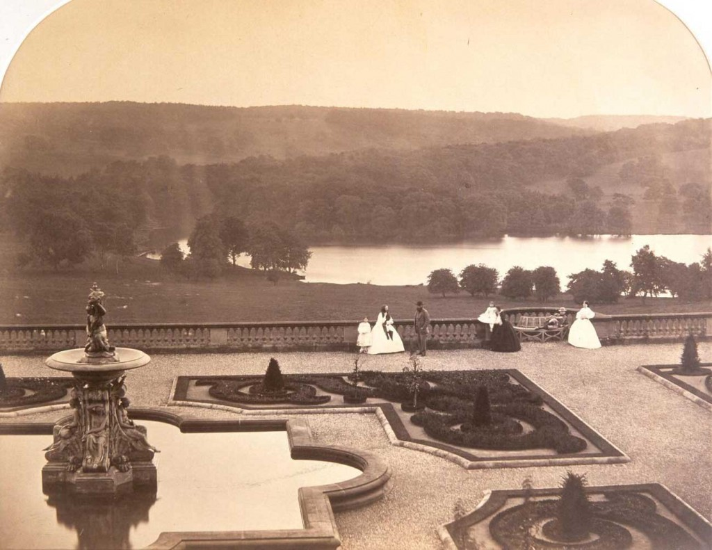 Harewood House was photographed by Roger Fenton