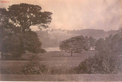 Roger Fenton image of Harewood from the south